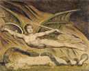 William Blake Satan and Eve