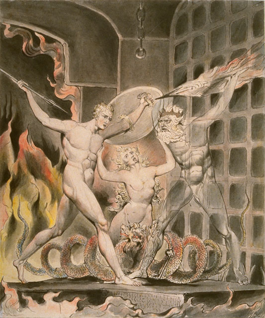 William Blake's Satan, Sin and Death