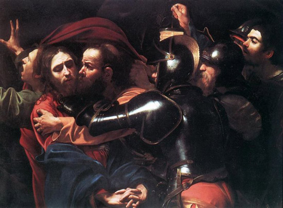Caravaggio-Taking-of-Christ