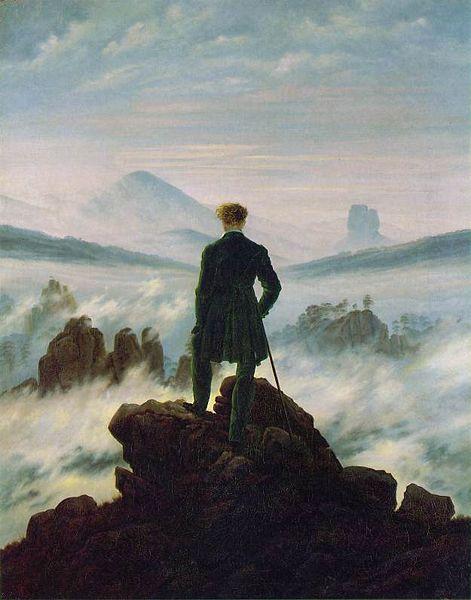 קספר דוד פרידריך: המשוטט