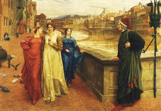 Henry-Holiday-Dante-and-Beatrice