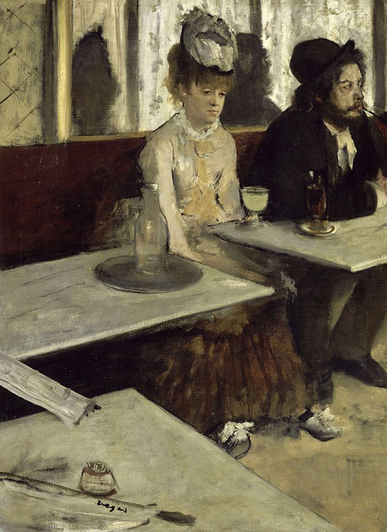 Degas-In-a-Cafe