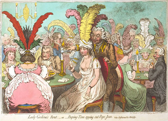 Gillray-Lady-Godinas-Rout
