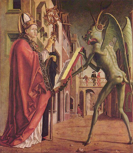悪魔の絵画アダナのテオフィルス