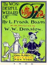 Wonderful Wizard of Oz title page