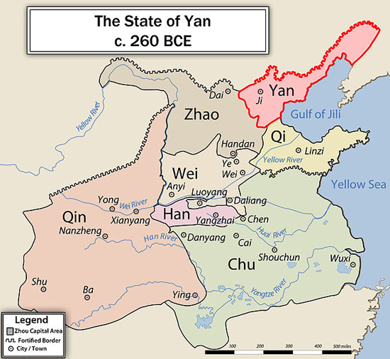 Yan-China-map