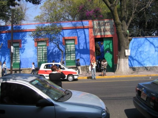 La Casa Azul in Mexico City