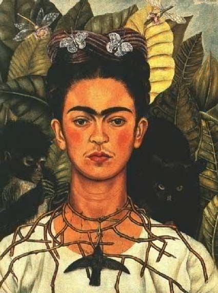 Frida Kahlo self-portrait: Coatlicue at the opera?
