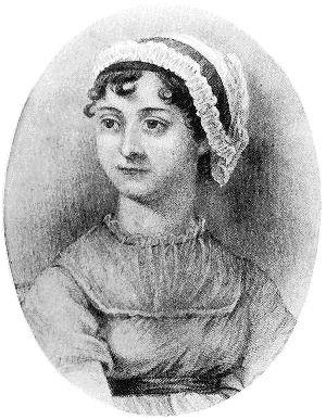 One of he two best-known images of Jane Austen, neither of which is said to be particularly reliable.